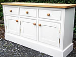 Large kitchen dresser base with 3 drawers & doors