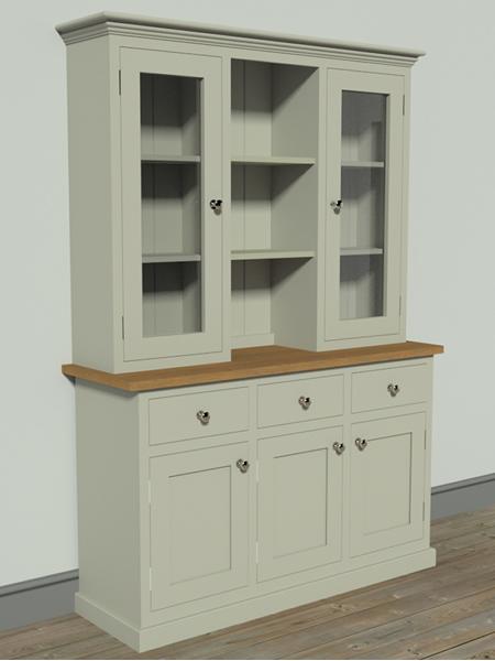 Door Solid Pine Kitchen Dresser Price