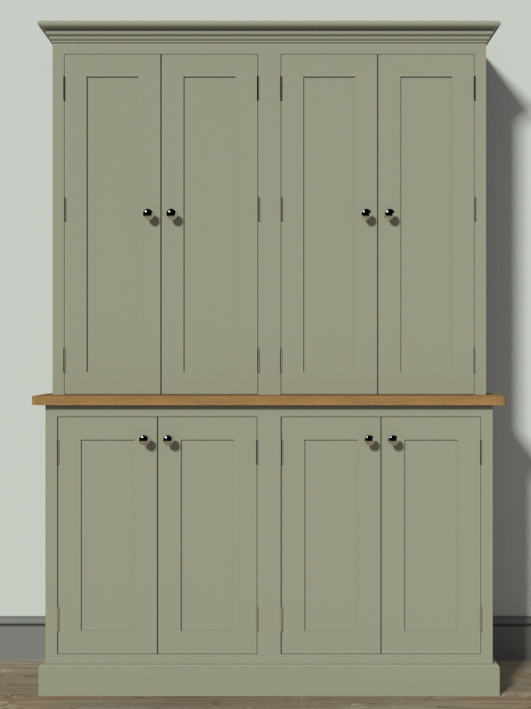 Freestanding larder cupboards for Kitchen unit set