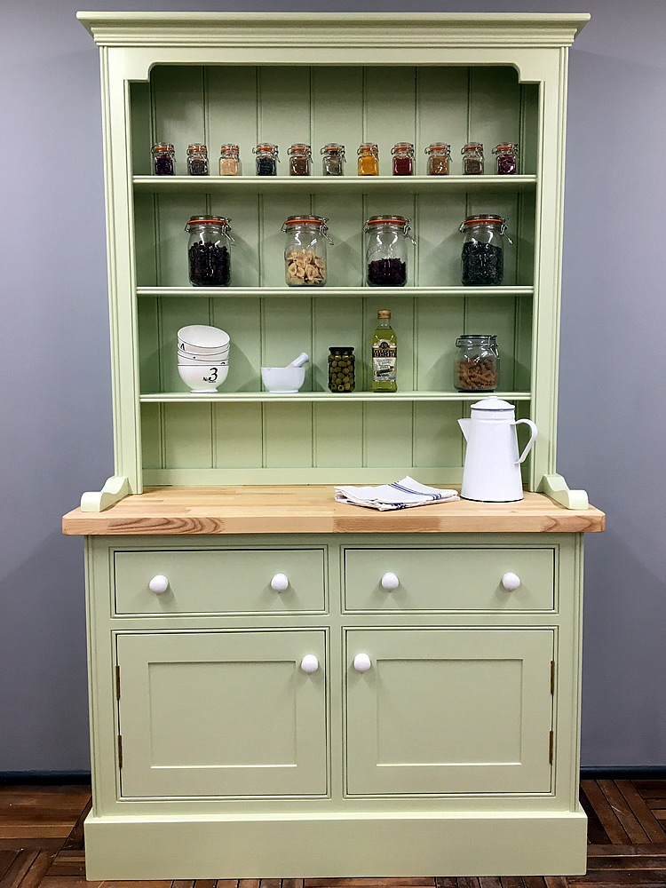 Small Kitchen Welsh Dressers With Open Shelves
