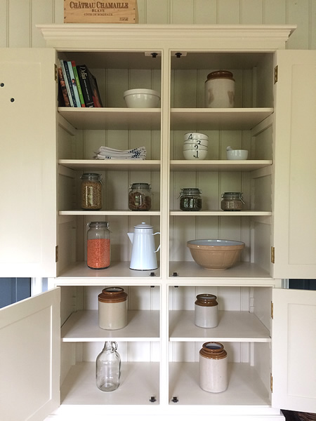 Freestanding Larder Cupboard with Ample Storage