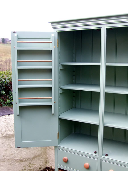 Freestanding Larder Cupboard Fully Adjustable Shelving