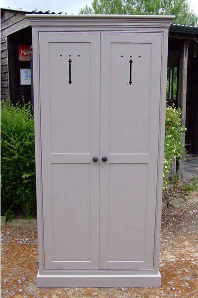 Freestanding larder cupboard with two full height doors