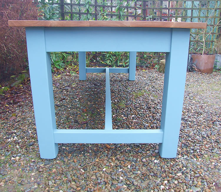Painted Refectory Tables with Square Legs