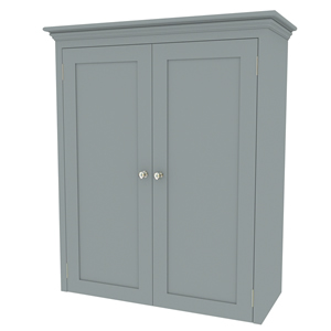 1000mm shaker in-frame double door worktop mounted cabinet