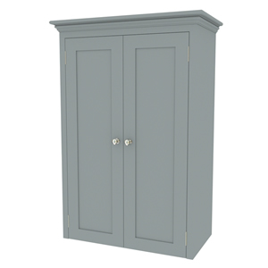 800mm shaker in-frame double door worktop mounted cabinet