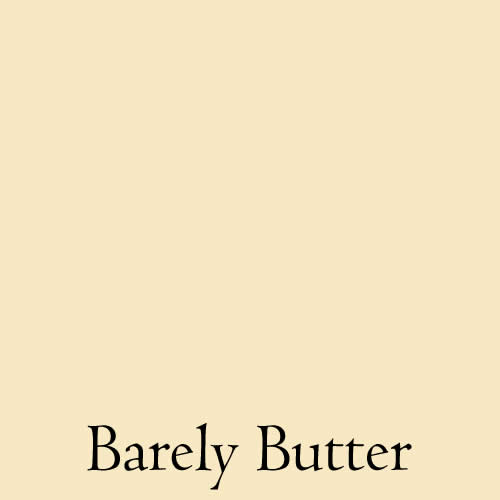 paint colour bareley butter