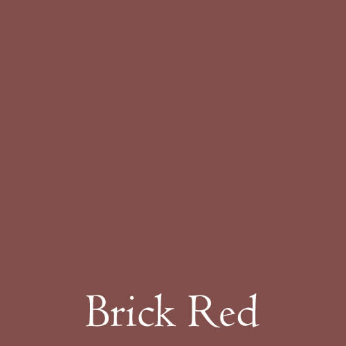 paint colour brick red