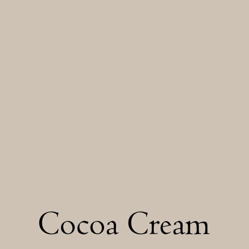 paint colour cocoa cream