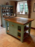 freestanding kitchen island - Dorset