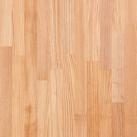 Ash Hardwood Kitchen Worktop with 40mm staves