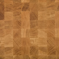 Oak End-Grain Butcher's Block Hardwood Kitchen Worktop